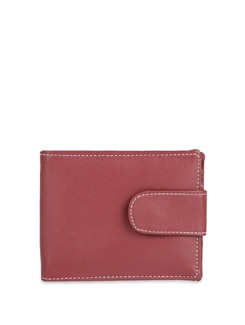 Trendy Leatherette Wallet With Mobile Phone Pocket - ALESSIA