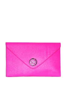Candy Pink Envelope Clutch - Murcia