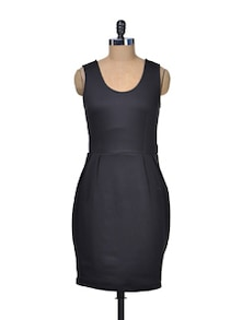 Structured Black Dress - 335th