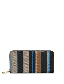 Stylish Striped Wallet - ALESSIA
