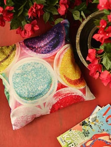 Colour Quirk Cushion Cover - Yolo By Spread