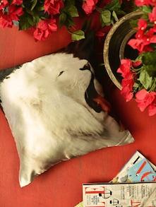 Digital Lion Print Cushion Cover - Yolo By Spread