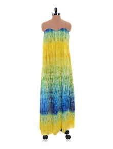 Colourful Tube Maxi Dress - Nangalia Ruchira