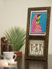 Art Madhubani Desk Painting - V Creations