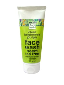 Clear Brightness Pulpy Face Wash - Auravedic