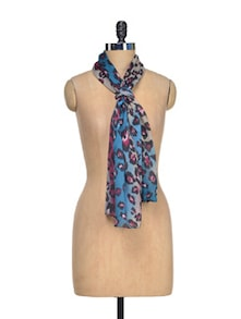 Chic Animal Print Scarf - J STYLE