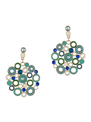 Stylish Turquoise Earrings