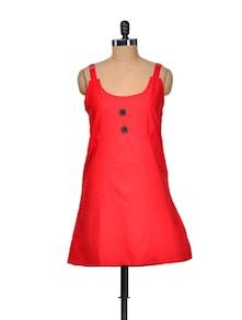 Rusty Red Dress - Delhi Seven