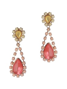 Fairy Tale Pear Shape Drop Earrings - Addons