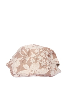 Stylish Brown Floral Cap - Addons