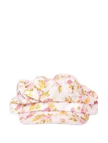 Happy Pink Floral Cap - Addons