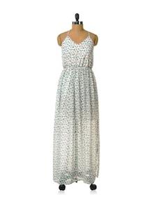 Flowy Floral Dress - HERMOSEAR