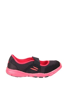 Black and Red Ballerina Style Sports Shoes - STEPpings