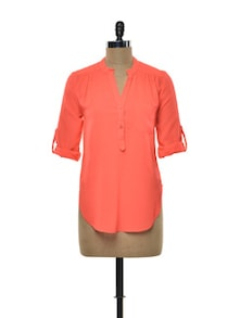 Neon Coral Shirt - Purys