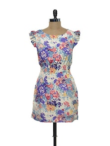 Multicoloured Floral Dress - Purys