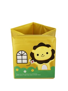 Kids Yellow Lion Storage Bin(Medium) - Uberlyfe