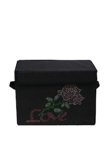 Kids Storage Box With Flower Graphic (Medium) - Uberlyfe