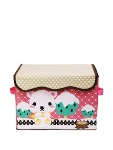 Kids Polka Dot  Storage Box (Medium) - Uberlyfe