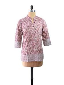 Pink Short Kurta - ALMA