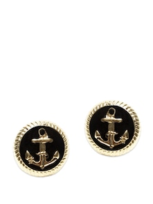 Black And Gold Earrings - Miss Chase