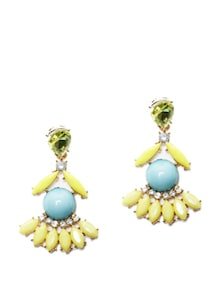 Pretty Stone Earrings - Miss Chase