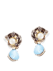 Turquoise Stone Earrings - Miss Chase
