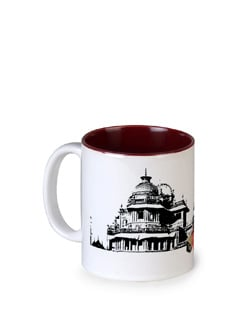 Tamara Palace Secrets Ceramic Coffee Mug - India Circus