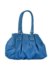 Bright Blue Casual Handbag - Bags Craze
