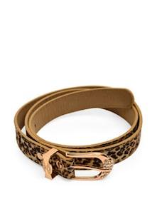 Bold Animal Print Belt - HERMOSEAR