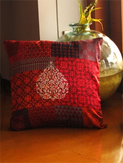 Neo Nawab Colorama Cushion Cover - India Circus