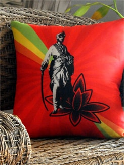 Neo Nawab Your Majesty Cushion Cover - India Circus