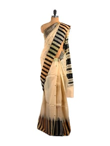 Striped Kosa Kanjivaram Saree - Kosabadi