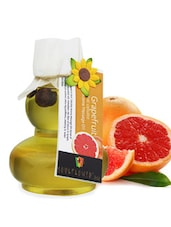 Soulflower Grapefruit Anti Cellulite Aroma Massage Oil - By