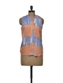 Sleeveless Ombre Shirt - Femella