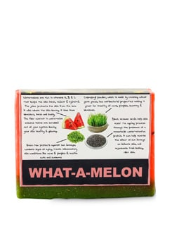 What A Melon Soap (Vegan) - SOULFLOWER