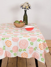 Colourful Floral Print Table Cover - Ocean Collections