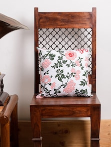 Flower Print Pink Cushion Cover Set - Ocean Collections