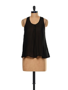 Bow-detailed Sleeveless Top - Thegudlook