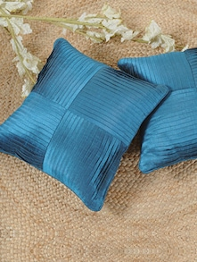 turquoise pintex cushion covers