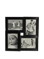 Collection Of 4 Black Photo Frames - BLACKSMITH