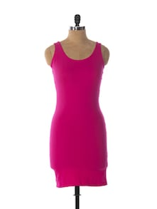 Sexy Pink Bodycon Dress - Miss Chase