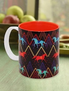 Stallion Aztec Coffee Mug - The Elephant Company