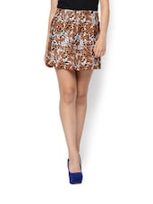Animal Print Polyester Skirt - Trend 18