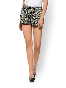 Animal Printed Neon Shorts - Trend 18