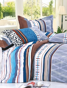 Abstract  Print Bedcover Set - Story @ Home