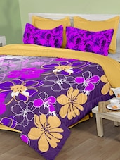 Multicolour Floral Bed Sheet - Birla Century