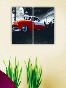 Vintage Car Wall Art (2pc) - Zeeshaan
