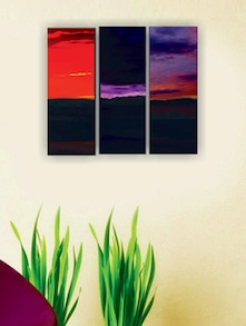 Colors Of Sky Wall Art (3 Pc) - Zeeshaan