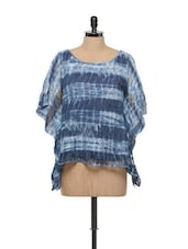 Blue Lacy Top - RENA LOVE