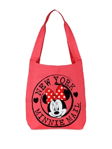Disney Collection From Be For Bag Pink Minnie Mouse Tote - Be... For Bag